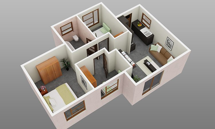 3 Bedroom 1 Bathroom Family Home Affordable Housing New Homes Dcm Housing